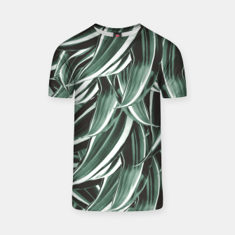 Thumbnail image of Tropical Greenery #1 #green #pattern #decor #art T-Shirt, Live Heroes