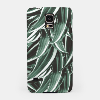 Thumbnail image of Tropical Greenery #1 #green #pattern #decor #art Handyhülle für Samsung, Live Heroes