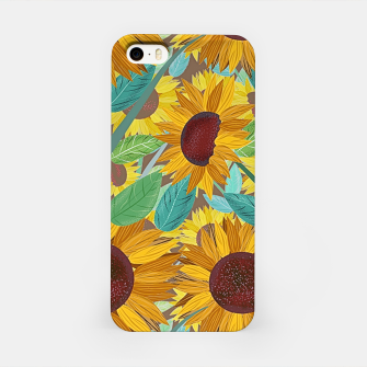 Thumbnail image of Sunflowers iPhone Case, Live Heroes