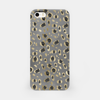 Miniatur Leopard Animal Print Glam #4 #shiny #pattern #decor #art iPhone-Hülle, Live Heroes