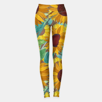 Thumbnail image of Sunflowers Leggings, Live Heroes
