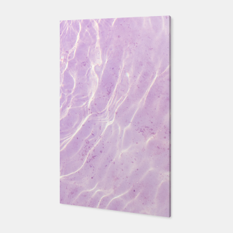 Thumbnail image of Soft Purple Pink Ocean Dream #1 #water #decor #art Canvas, Live Heroes