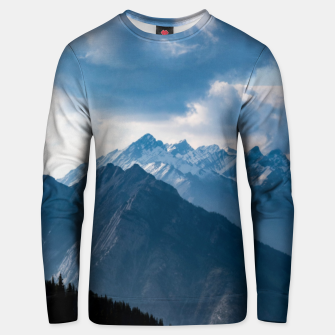 Thumbnail image of Banff from Sulphur Mountain Unisex sweater, Live Heroes