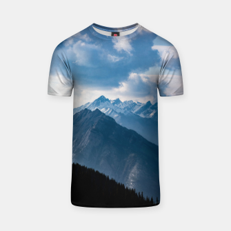 Thumbnail image of Banff from Sulphur Mountain T-shirt, Live Heroes