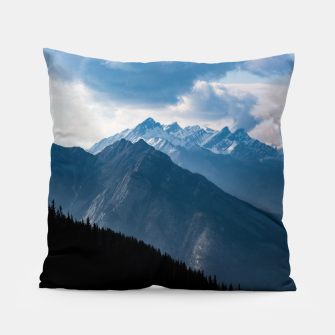 Thumbnail image of Banff from Sulphur Mountain Pillow, Live Heroes
