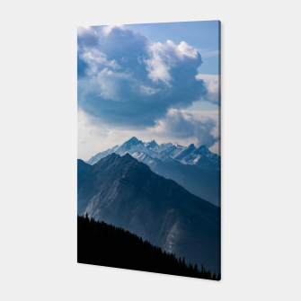 Thumbnail image of Banff from Sulphur Mountain Canvas, Live Heroes