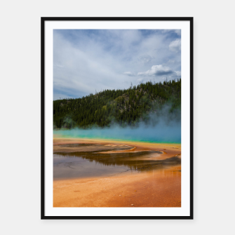 Thumbnail image of Grand Prismatic Framed poster, Live Heroes