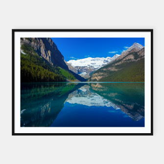 Thumbnail image of Lake Louise Framed poster, Live Heroes