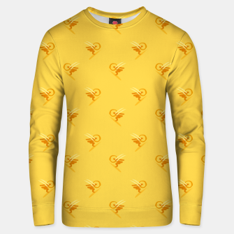 Miniatur minimalistic watercolor scribble seamless pattern c89 Unisex sweater, Live Heroes