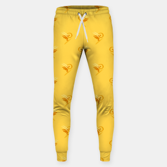 Thumbnail image of minimalistic watercolor scribble seamless pattern c89 Sweatpants, Live Heroes