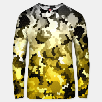 Golden crystals print Unisex sweater thumbnail image