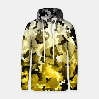 Thumbnail image of Golden crystals print Hoodie, Live Heroes