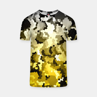 Thumbnail image of Golden crystals print T-shirt, Live Heroes