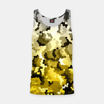 Thumbnail image of Golden crystals print Tank Top, Live Heroes