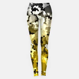 Golden crystals print Leggings thumbnail image