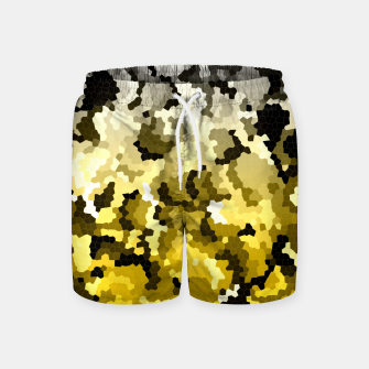 Golden crystals print Swim Shorts thumbnail image