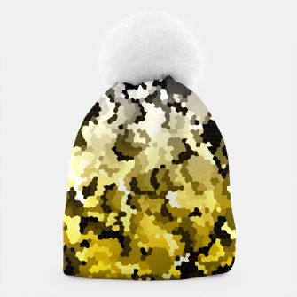 Thumbnail image of Golden crystals print Beanie, Live Heroes