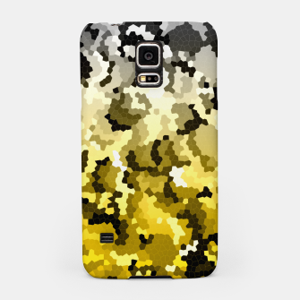 Thumbnail image of Golden crystals print Samsung Case, Live Heroes