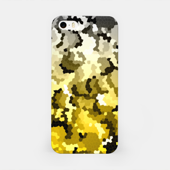 Golden crystals print iPhone Case thumbnail image