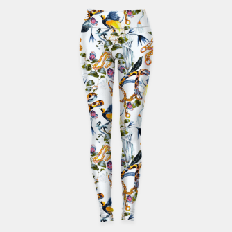 Miniature de image de Exotic birds in chains Leggings, Live Heroes