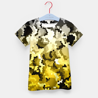 Thumbnail image of Golden crystals print Kid's t-shirt, Live Heroes