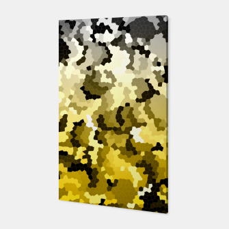 Thumbnail image of Golden crystals print Canvas, Live Heroes