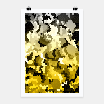 Thumbnail image of Golden crystals print Poster, Live Heroes