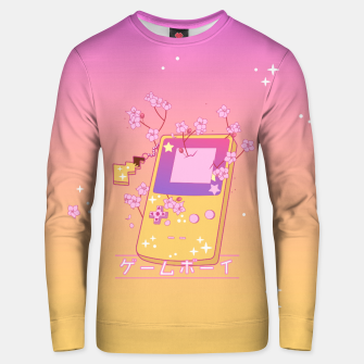 Thumbnail image of Kawaii GameBoy Color Unisex sweater, Live Heroes