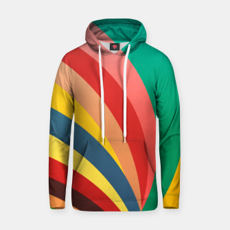 Miniaturka Colorful stripes, rainbow print Hoodie, Live Heroes
