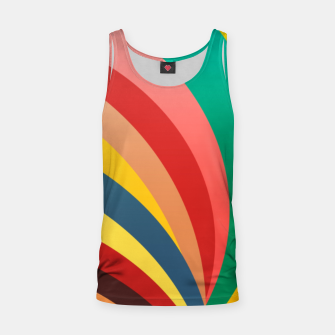 Miniaturka Colorful stripes, rainbow print Tank Top, Live Heroes
