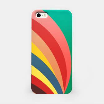 Miniaturka Colorful stripes, rainbow print iPhone Case, Live Heroes