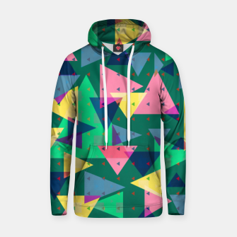 Triangles, my favorite geometric shapes  Hoodie miniature
