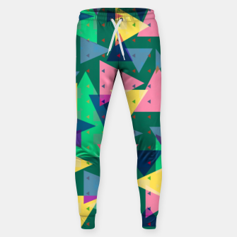Triangles, my favorite geometric shapes  Sweatpants miniature