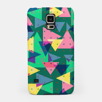 Triangles, my favorite geometric shapes  Samsung Case miniature