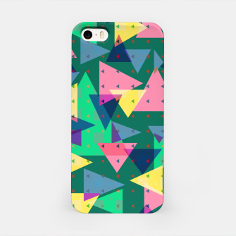 Triangles, my favorite geometric shapes  iPhone Case miniature