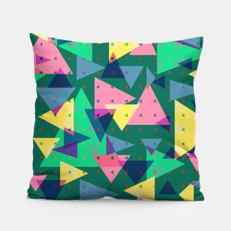 Triangles, my favorite geometric shapes  Pillow miniature