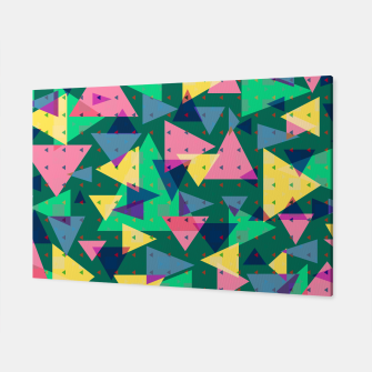 Triangles, my favorite geometric shapes  Canvas miniature