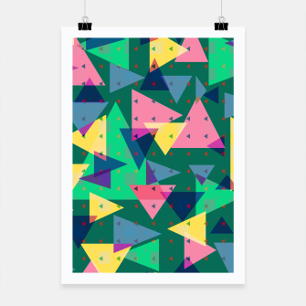 Triangles, my favorite geometric shapes  Poster miniature