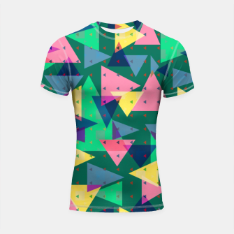 Triangles, my favorite geometric shapes  Shortsleeve rashguard miniature