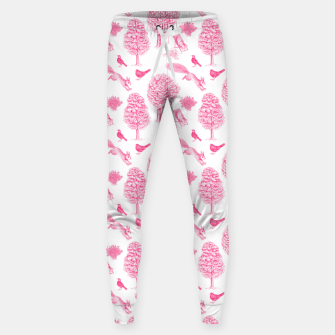 Miniatur A Girl Reading in the Garden (White and Pink) Sweatpants, Live Heroes