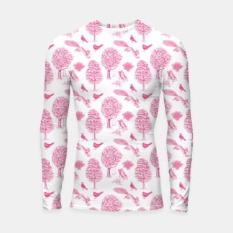 Miniatur A Girl Reading in the Garden (White and Pink) Longsleeve rashguard , Live Heroes