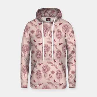 Thumbnail image of A Girl Reading in the Garden (Pink and Plum) Hoodie, Live Heroes
