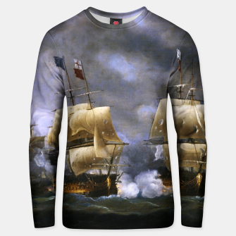 Thumbnail image of Battle of Quiberon Bay Unisex sweater, Live Heroes