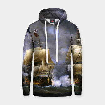 Thumbnail image of Battle of Quiberon Bay Hoodie, Live Heroes