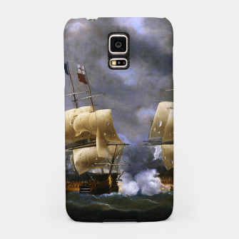 Thumbnail image of Battle of Quiberon Bay Samsung Case, Live Heroes
