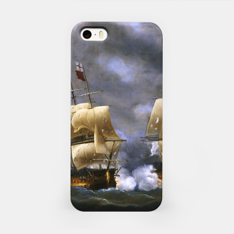 Thumbnail image of Battle of Quiberon Bay iPhone Case, Live Heroes