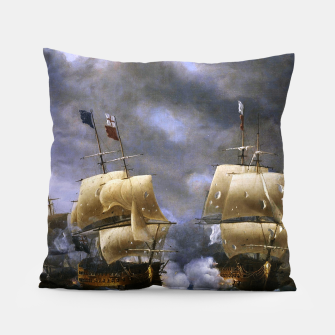 Thumbnail image of Battle of Quiberon Bay Pillow, Live Heroes