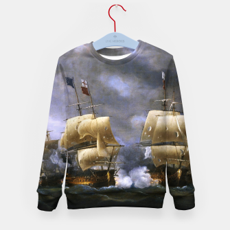 Thumbnail image of Battle of Quiberon Bay Kid's sweater, Live Heroes