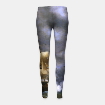 Thumbnail image of Battle of Quiberon Bay Girl's leggings, Live Heroes