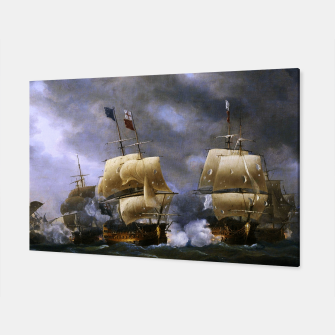Thumbnail image of Battle of Quiberon Bay Canvas, Live Heroes